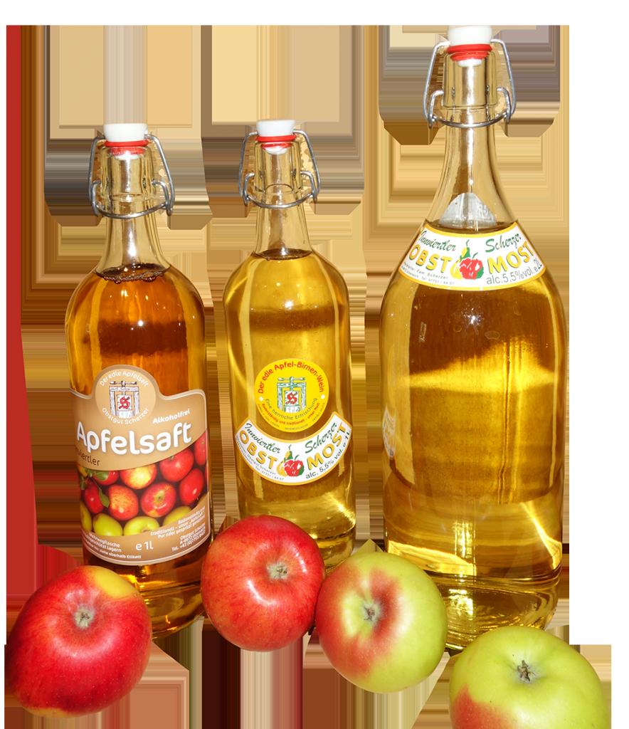 Flaschen freigestellt